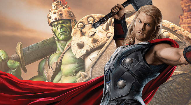 First Look At Thor And Hulk From Thor: Ragnarok
