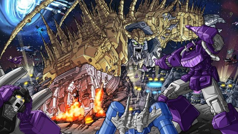 Transformers unicron attacks by 1db
