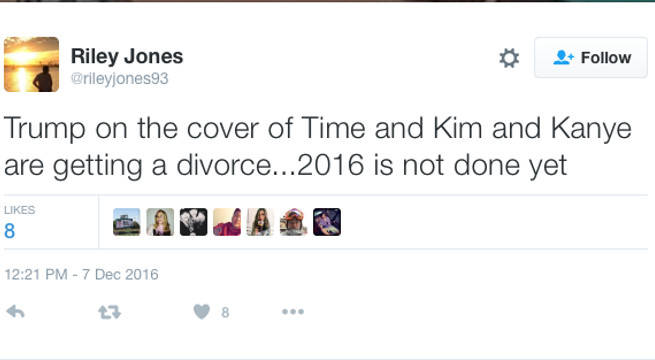 Trump on Cover Kim and Kanye divorce