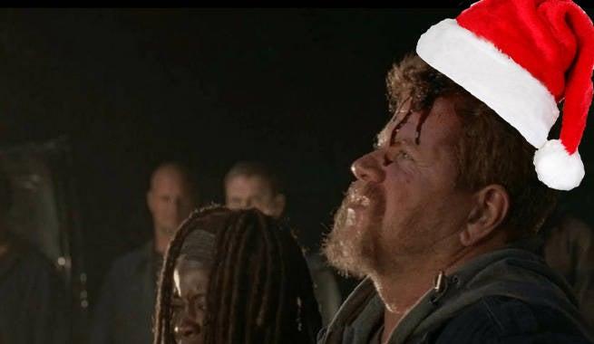 TWD Abraham Christmas