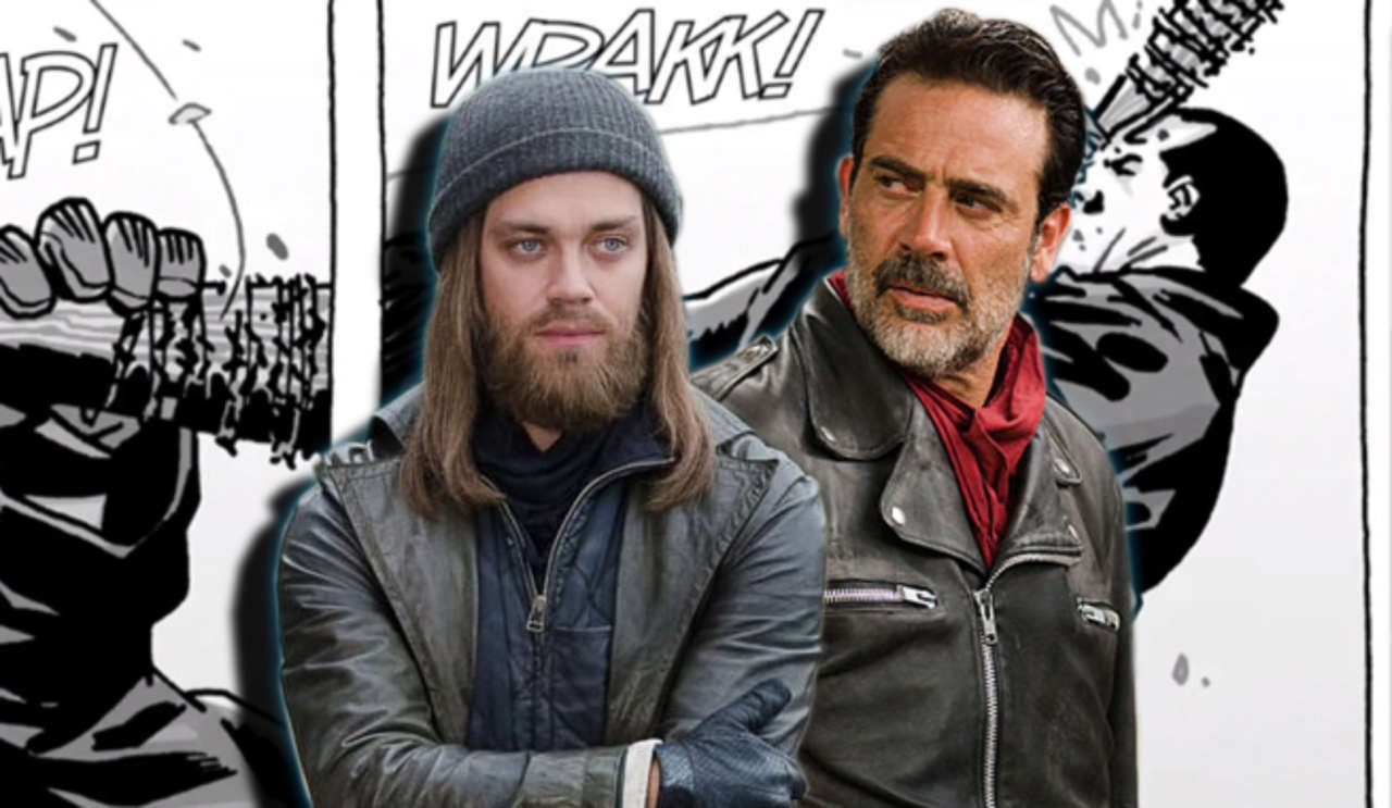 tom payne has trained for a jesus vs negan fight on the walking dead