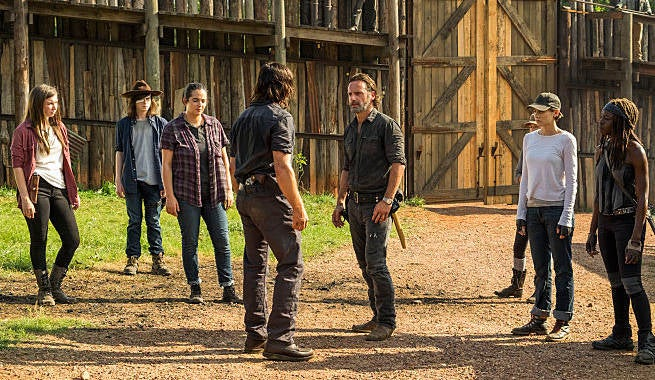 TWD Rick Daryl Group Hilltop 708