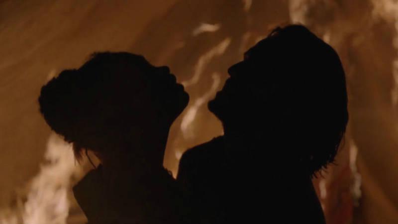 Westworld Fire Sex Scene