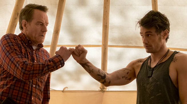 Bryan Cranston and James Franco in Why Him