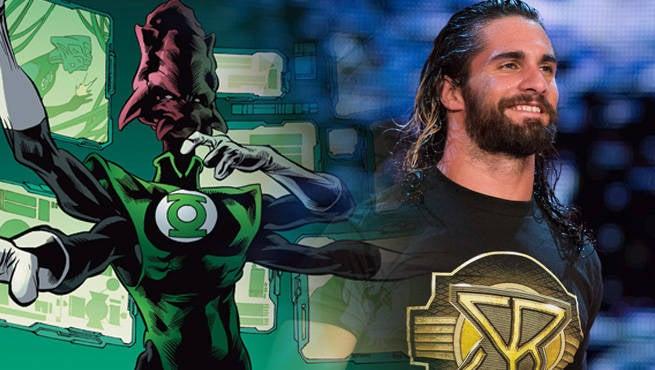 WWE GL Rollins Salaak