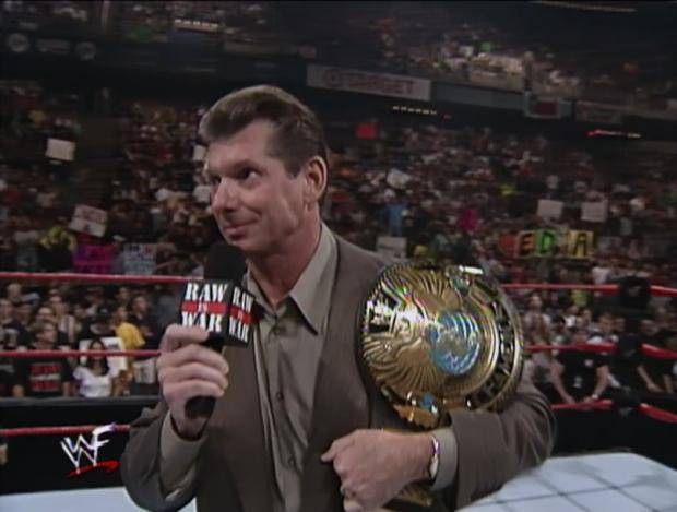 Vince McMahon WWE champion