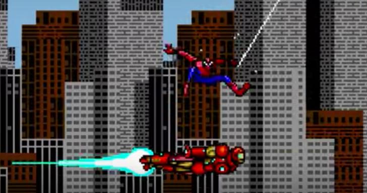 Spider-Man: Homecoming Trailer In 8-Bit