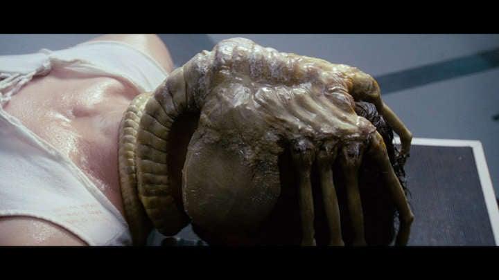 alien movie facehugger xenomorph original
