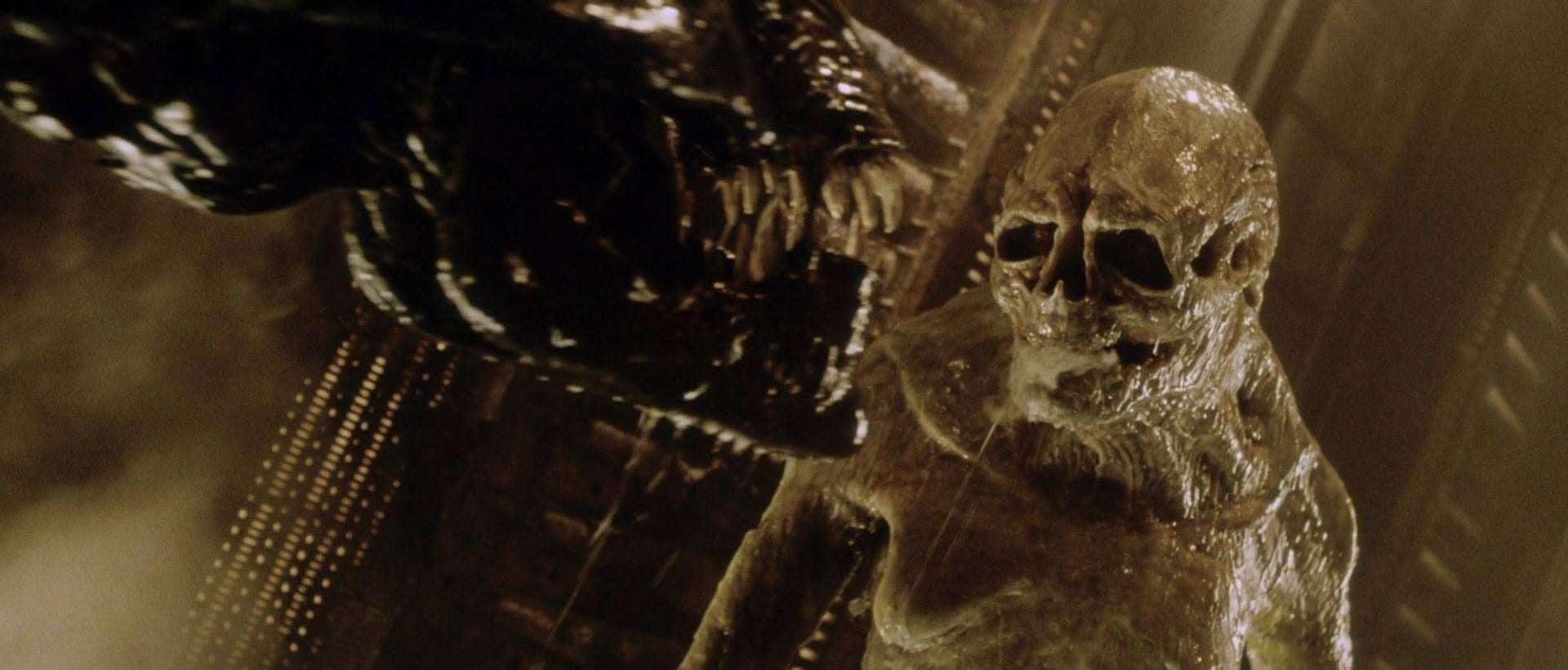 alien resurrection hybrid baby sigourney weaver
