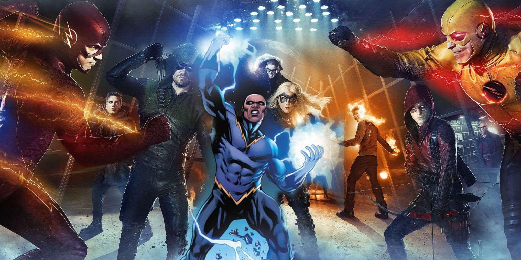 arrow blacklightning CW