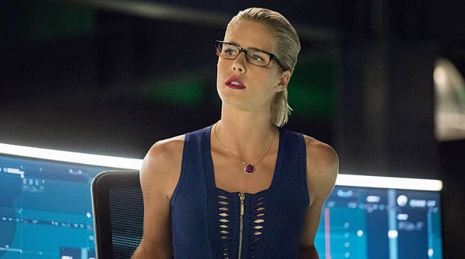 Arrow Season 5 Felicity Emily Bett Rickards Black Canary Villain