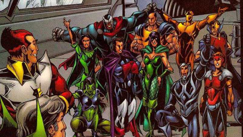 Avengers Infinity War Eternals of Titan