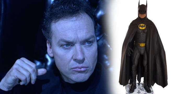 batman returns michael keaton bat suit sold auction