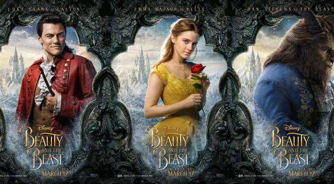 beauty-and-the-beast-character-posters