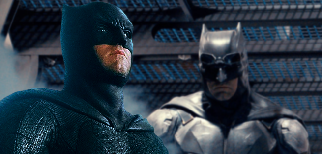 3D Rendering Of Batman Cowl From Justice League Surfaces