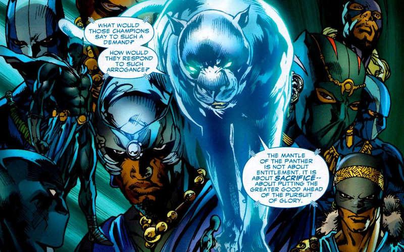 Black Panther Movie Science Magic in MCU