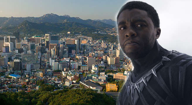 black panther shooting north korea