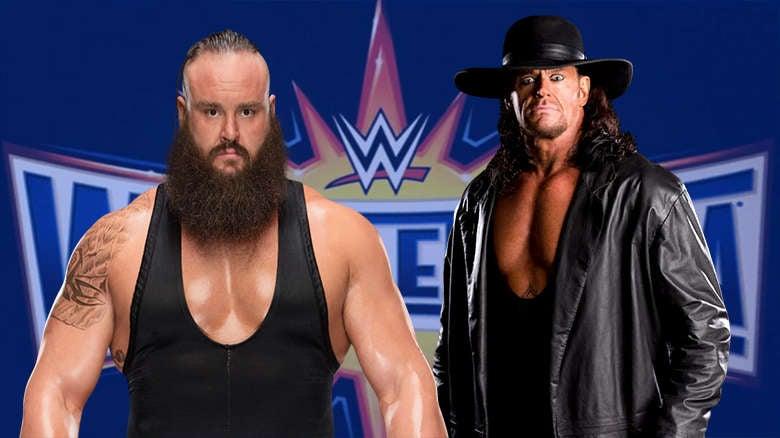 Braun Strowman vs Undedrtaker
