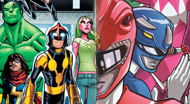 Champions-Power Rangers