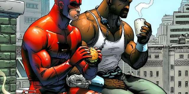 Charlie Cox Daredevil Luke Cage Cheeseburgers