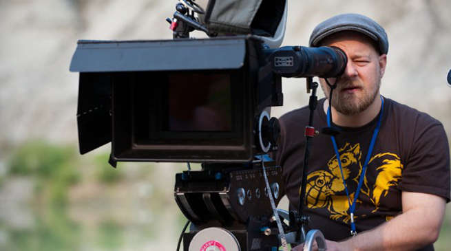David Slade directing The Batman