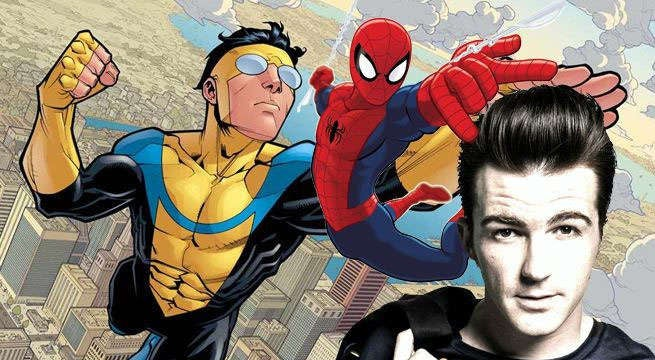 drake bell invincible ultimate spider-man