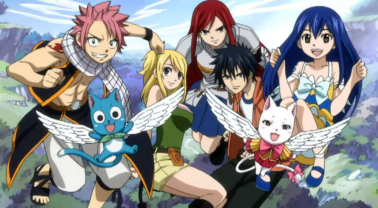 Fairy tail creator debuts behind the scenes character sketches