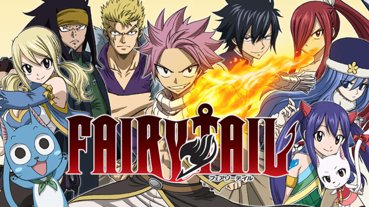 Image result for fairy tale anime