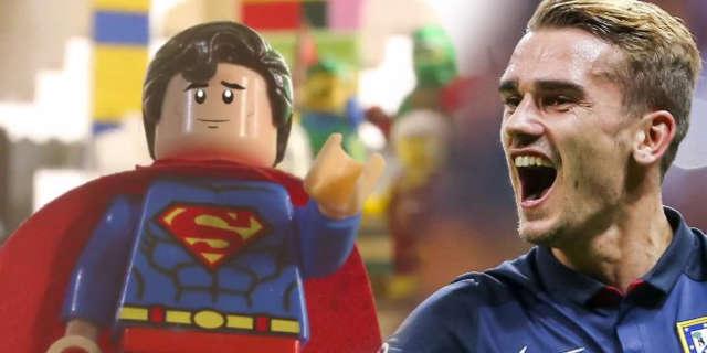france lego batman movie superman soccer antoine griezmann