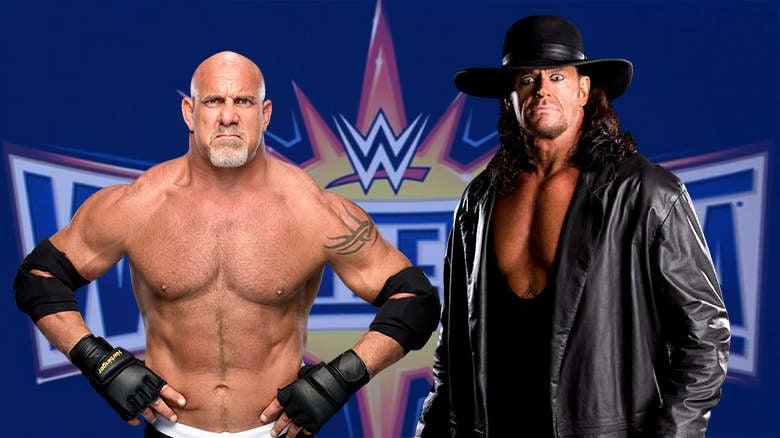 Goldberg vs Taker