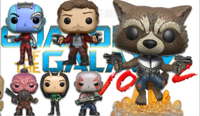 Huge Line Of Guardians Of The Galaxy Vol. 2 Pop!, Dorbz, And Funko Products Revealed