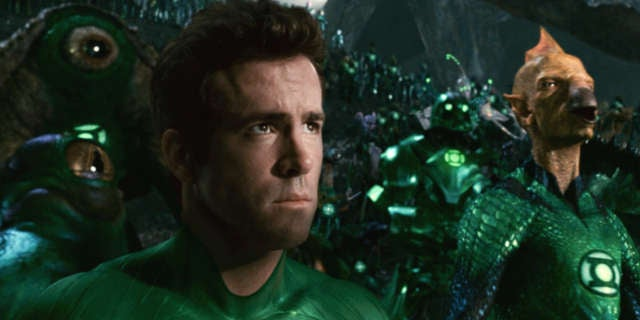 Green Latern Movie 2011 CGI
