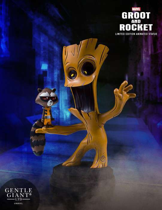 groot-rocket-animated-statue-poster