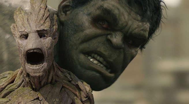 Groot-versus-Hulk