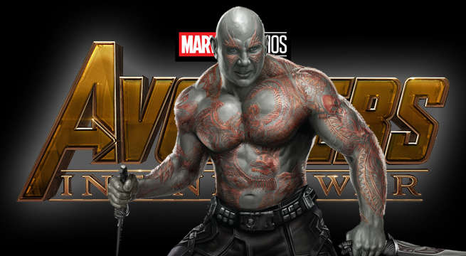 guardians galaxy star drax dave bautista reveals avenger