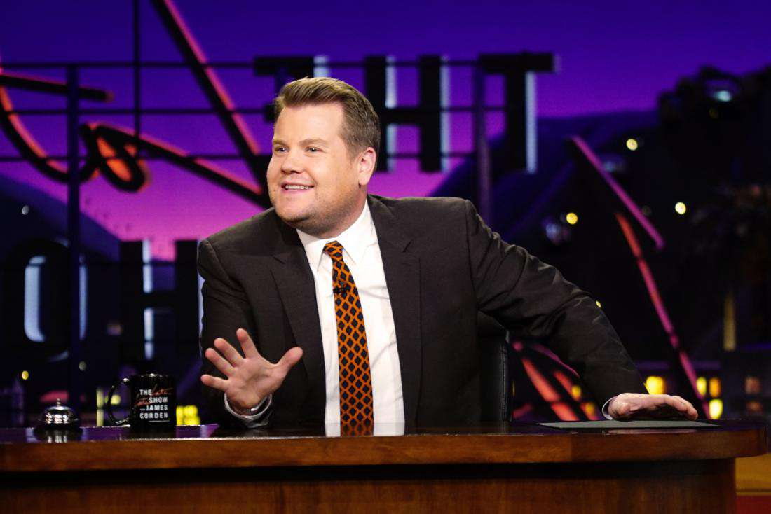 James Corden Slammed for Kissing Sean Spicer