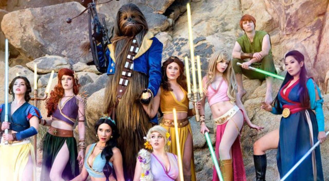 What If Disney Princesses Were Lightsaber Wielding Jedi
