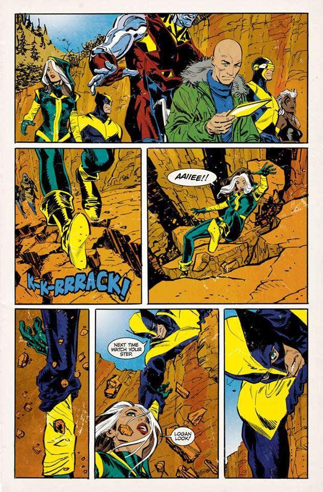 Joe Quesada X-Men-Logan-Trailer