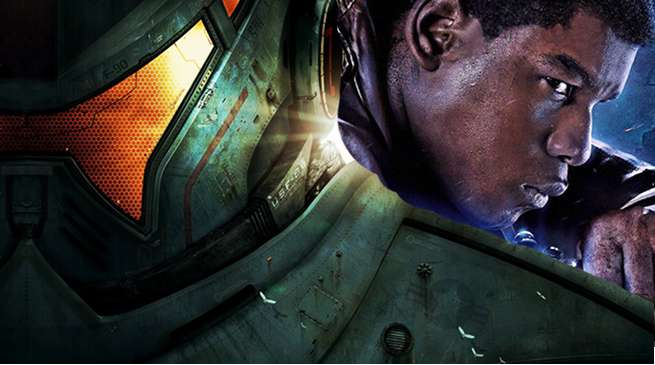John Boyega Pacific Rim 2 Uprising Set Armor