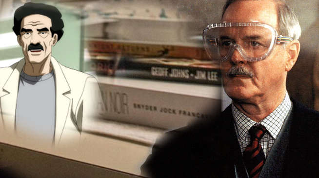 John Cleese as Arkham Doctor Bartholomew Wolper in Justice League and The Batman
