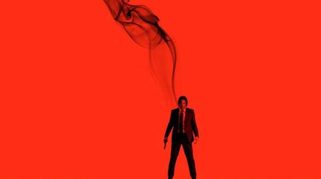 John Wick Chapter 2 Relit Poster