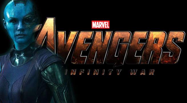 karen gillan nebula avengers infinity war