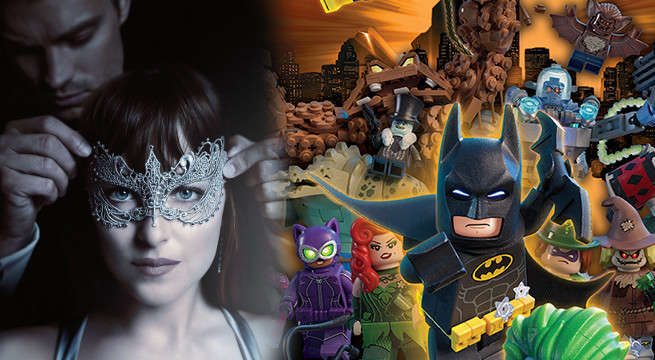 LEGO Batman Expected To Dominate Fifty Shades Darker In Opening Weekend