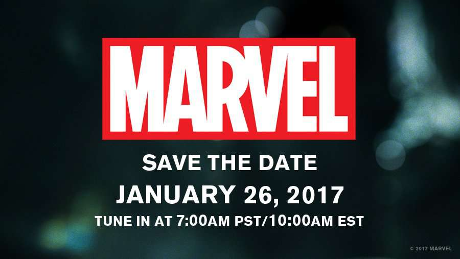 marvel announcement
