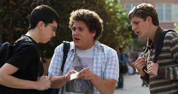 Michael Cera on Superbad 2