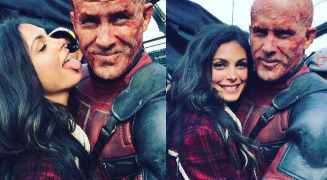 morana baccarin ryan reynolds deadpool