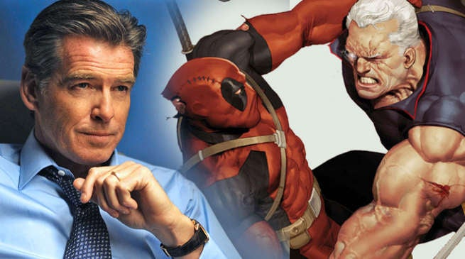 Pierce Brosnan Deadpool 2 Cable X-Men Movies