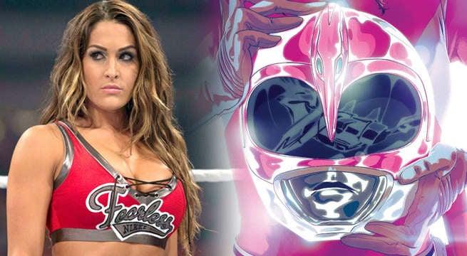 Pink Ranger Nikki Bella