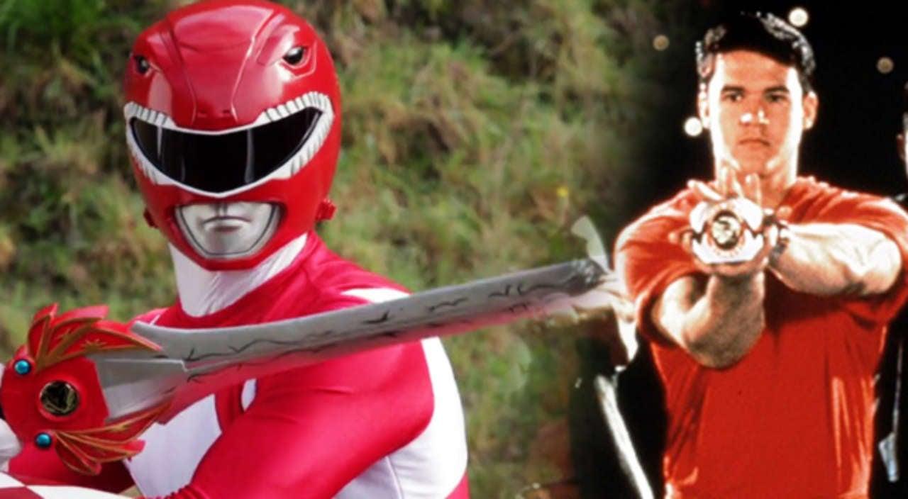 Original Mighty Morphin Red Ranger Austin St John Rumored To Return For Power Rangers Beast Morphers