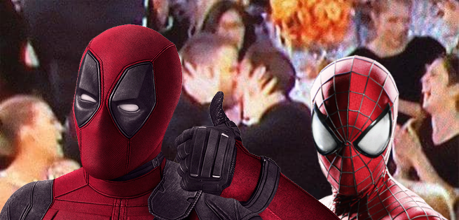 Internet Reacts to Ryan Reynolds Kissing Andrew Garfield at Golden Globes